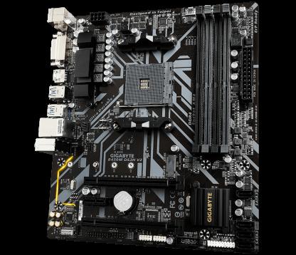 GIGABYTE B450M DS3H V2 AMD AM4 MOTHERBOARD