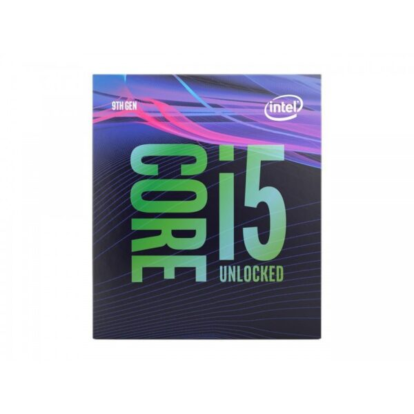 INTEL CORE I5 9600K 9TH GENERATION PROCESSOR (9M CACHE, UP TO 4.60 GHZ)