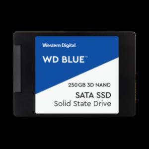 WD BLUE SATA SSD 2.5″/7mm CASED
