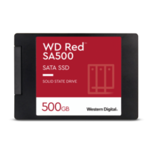 WD RED SA500 NAS SATA SSD 2.5″/7MM CASED