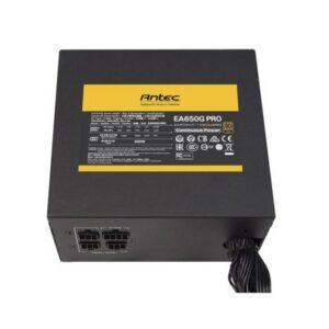 ANTEC SMPS EA650G PRO – 650 WATT 80 PLUS GOLD CERTIFICATION SEMI MODULAR PSU