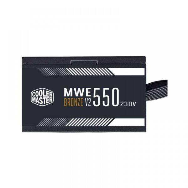 COOLER MASTER MWE 550 BRONZE – V2 PSU (MPE-5501-ACABW-BIN)
