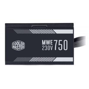 COOLER MASTER MWE 750 WHITE 230V V2 – 750 WATT 80 PLUS CERTIFIED PSU