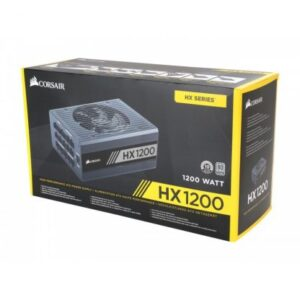 CORSAIR HX SERIES HX1200 — 1200 WATT 80 PLUS PLATINUM CERTIFIED FULLY MODULAR PSU
