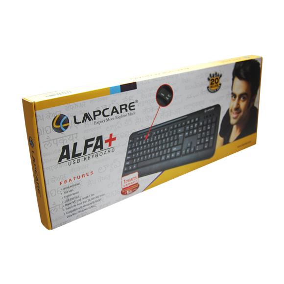 LAPCARE ALFA USB KEYBOARD (LKB-221)