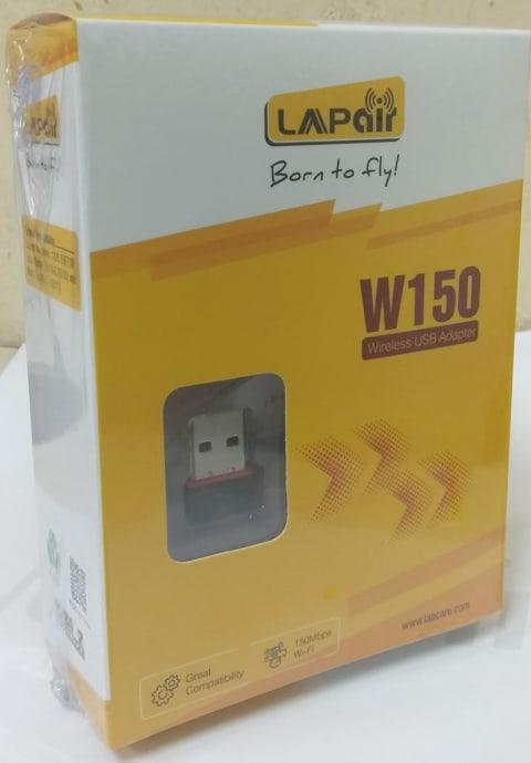Lapcare USB Wireless Adapter W150 (WS-WN687S1)
